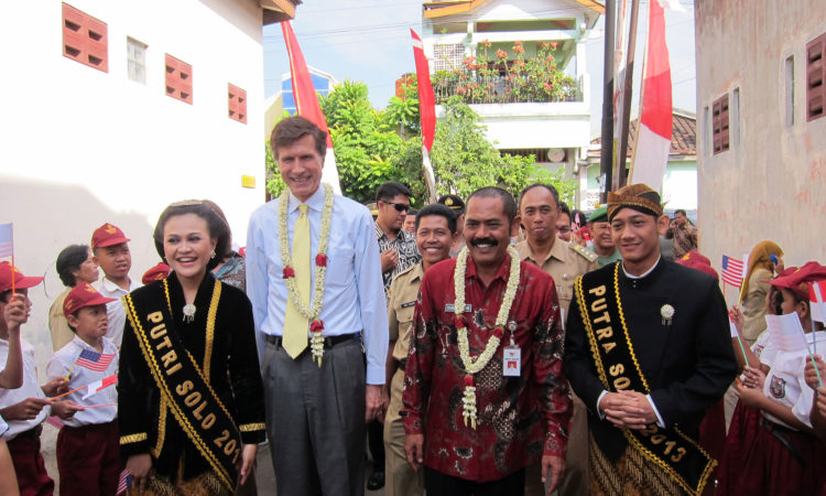 Ambassador Blake's Travel to Solo, Central Java