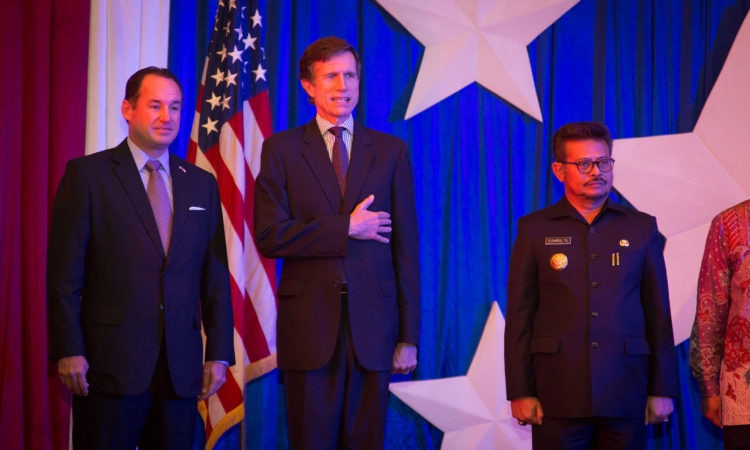 U.S. Consulate General Celebrates 2015 Independence Day in Makassar (State Dept/Christian Simanullang)