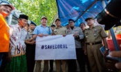 Mars Coral Reef Protection Visit During 4th July Celebrations in Makassar (State Dept/Christian Simanullang)