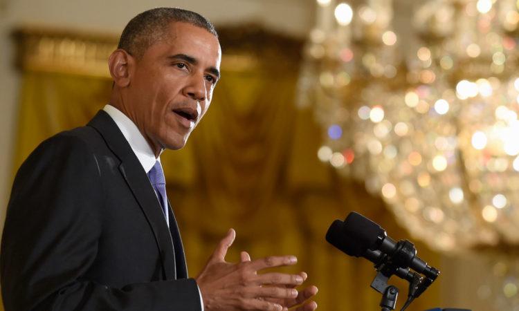 Pernyataan Presiden Obama tentang Iran (State Dept. / AP Images)