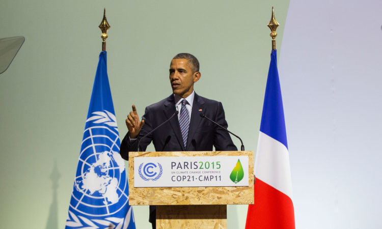 Remarks by President Obama at the First Session of COP21 (State Dept. / AP Images)