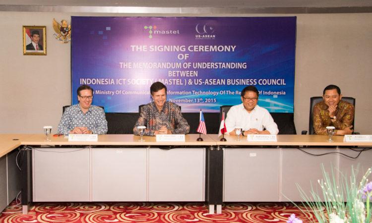 USABC Mastel MOU Signing, Jakarta