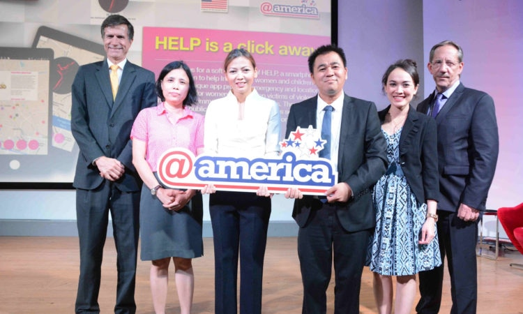 Remarks by Ambassador Blake at Launch of HELP App, @America, Jakarta (@America)