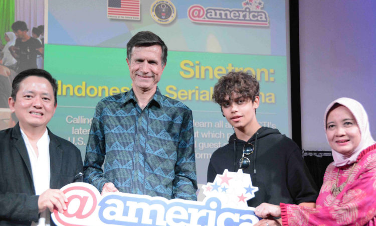 @america Press Conference & Performance ‎Highlights Ambassador's Upcoming Sinetron Appearance (@America)