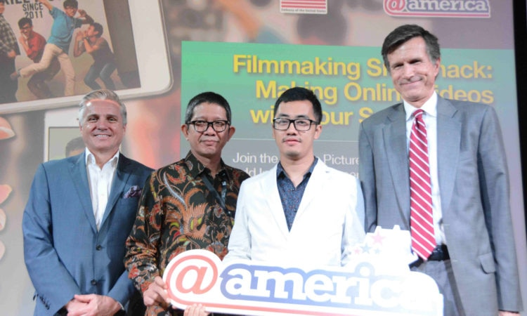 Protecting IPR through Digital Creativity & Making Movies with Smartphones Workshop (@America)