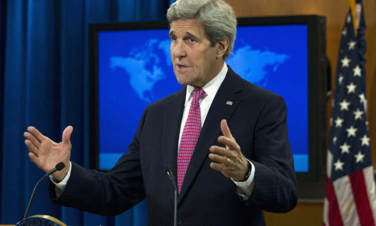 Secretary Kerry on the Release of the 2015 Country Reports on Human Rights Practices (State Dept. / AP Images)
