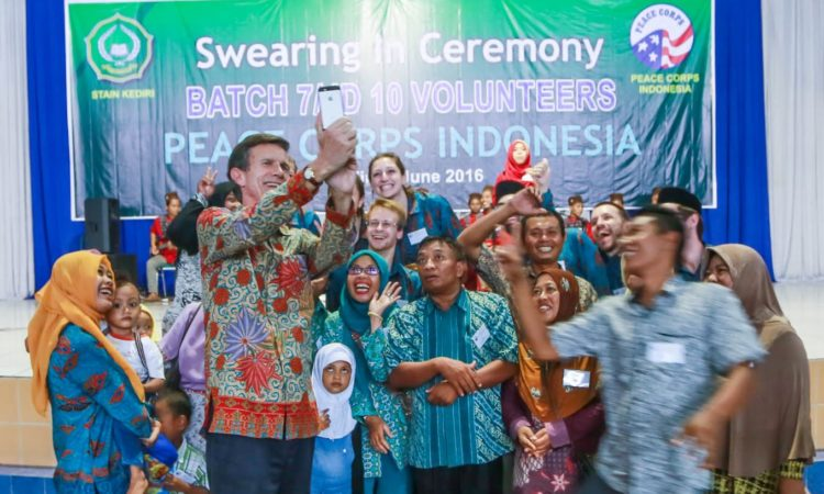 Peace Corps Swearing In Ceremony (U.S. Consulate Surabaya)