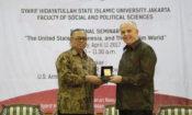 Ambassador Donovan at UIN Syarif Hidayatullah, Jakarta (State Dept. / Budi Sudarmo)