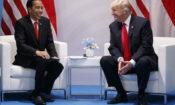 Donald Trump, Joko Widodo