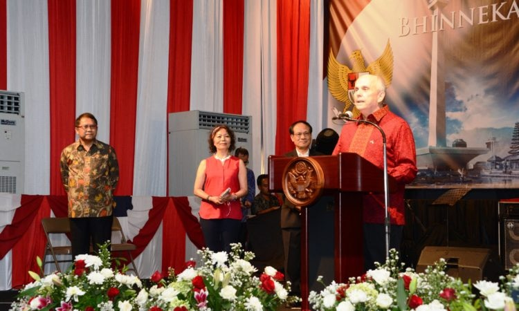 Celebration of the 241st Anniversary of the Independence of the United States of America, Jakarta (State Dept. / Erik A. Kurniawan)