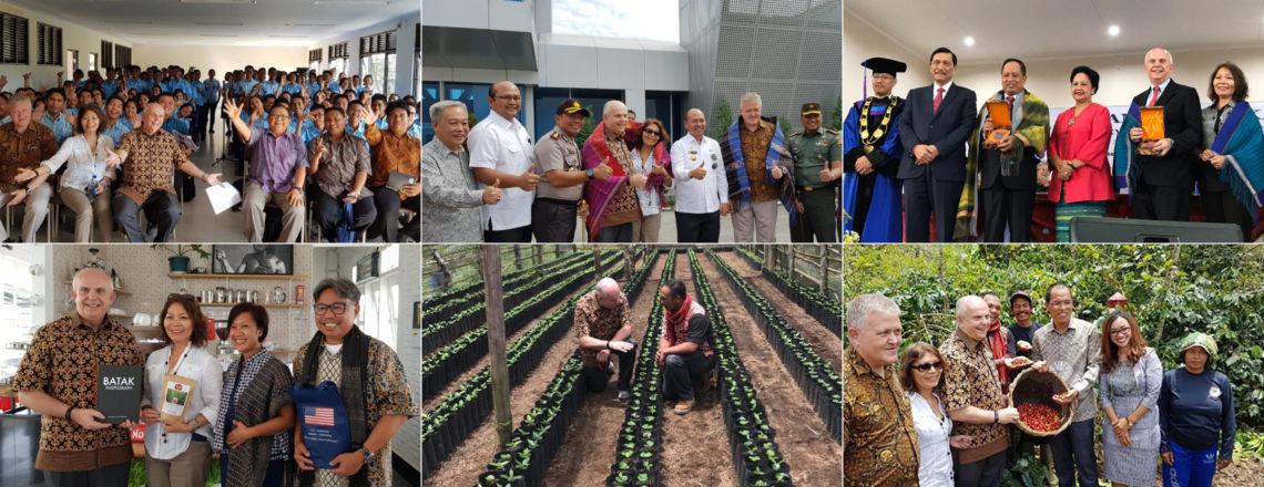 Ambassador Donovan Promotes Strength of U.S.-Indonesia Strategic Partnership in Toba Area