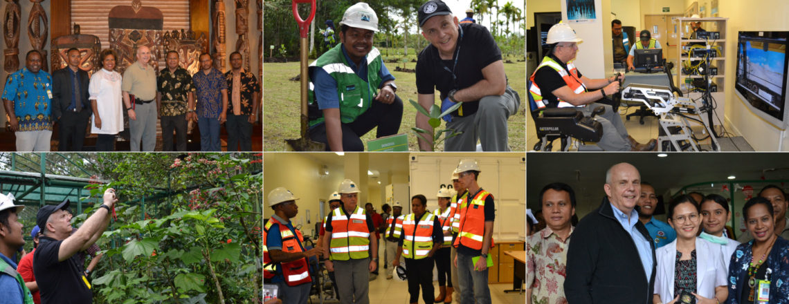 "Ambassador Donovan Tours PTFI's Operations, Supports President Jokowi's ""Win-Win"" Vision"
