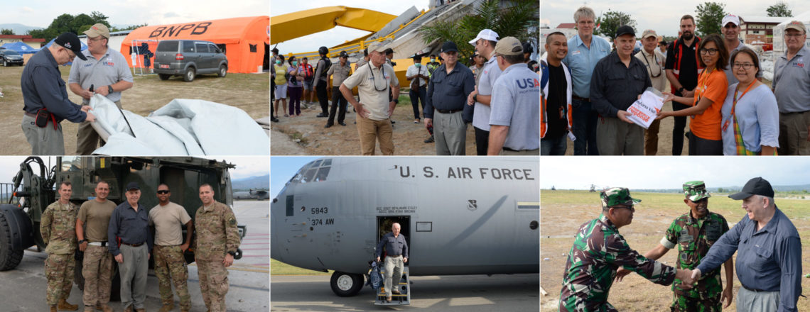 Ambassador Donovan Surveys Disaster-Hit Areas in Palu, Central Sulawesi