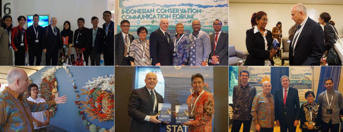 Dubes Donovan Berpartisipasi dalam Our Ocean Conference 2018