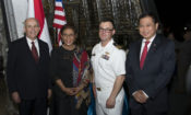 U.S. Littoral Combat Ship, USS Coronado makes port visit to Jakarta, Indonesia (State Dept. / Budi Sudarmo)