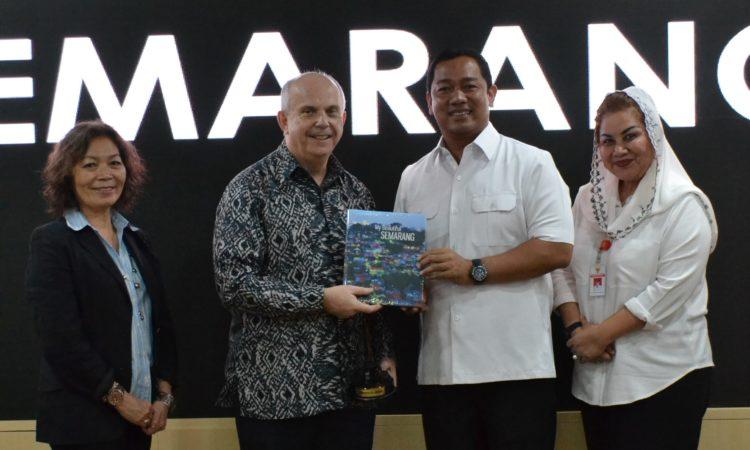 Dubes AS bertemu Walikota Semarang
