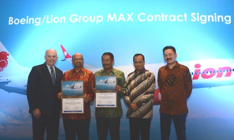Sambutan Duta Besar Donovan Pada Acara Penandatanganan Boeing dan Lion Group (State Dept. / Erik Kurniawan)