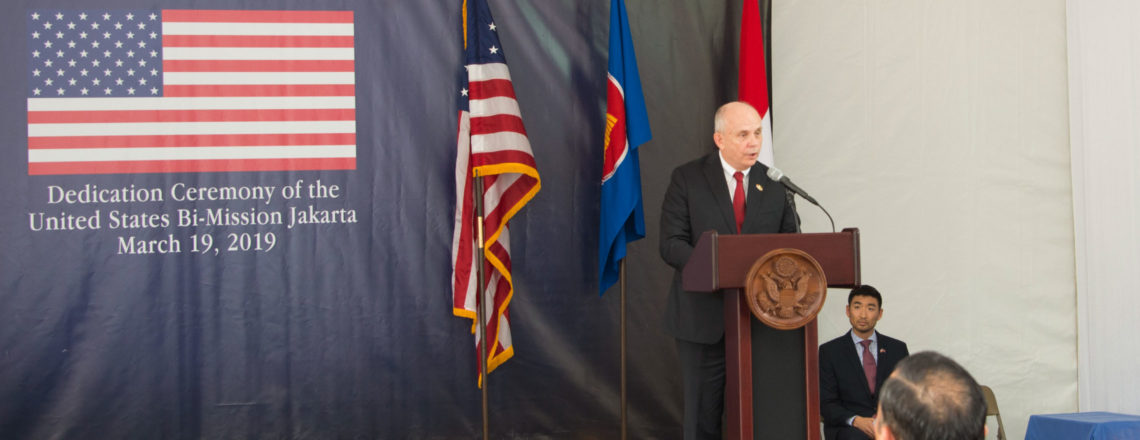 Ambassador Donovan's Remarks at the Dedication Ceremony of the New U.S. Embassy in Jakarta