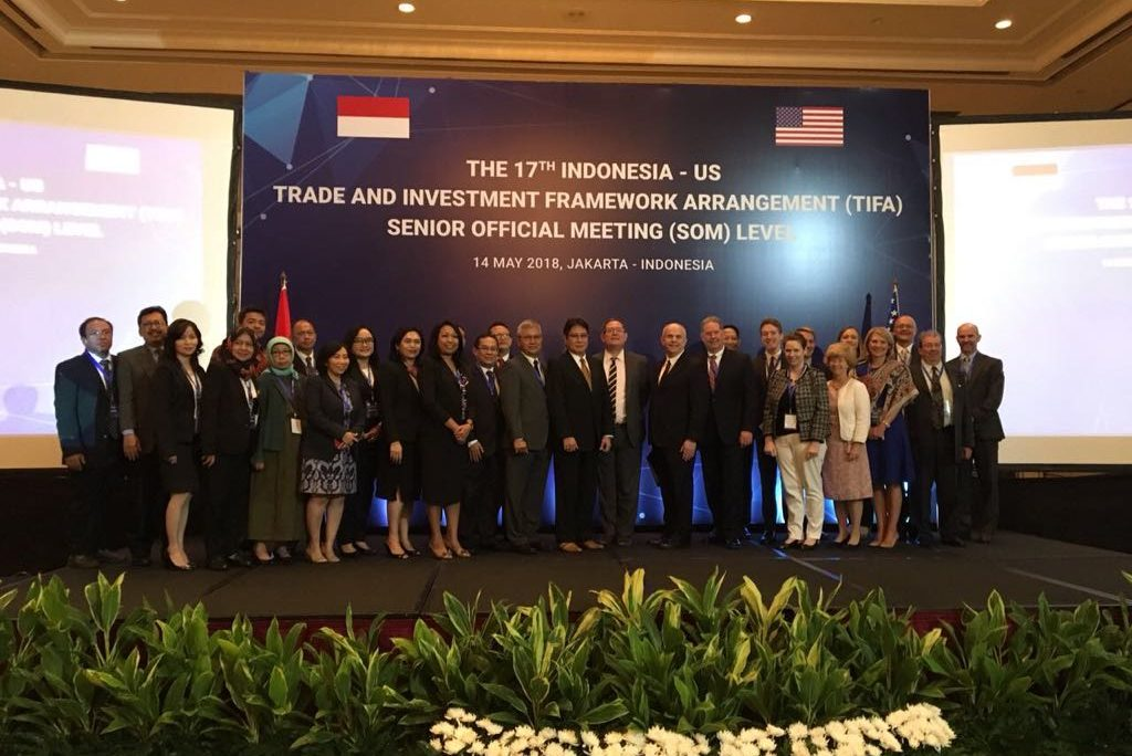 United States And Indonesia Meet Under Trade And Investment